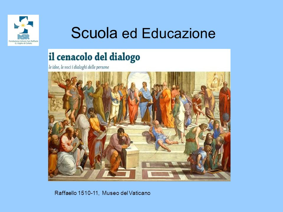 Scuola ed Educazione Raffaello 1510-11, Museo del Vaticano