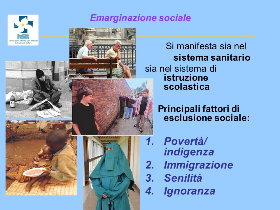 Emarginazione sociale