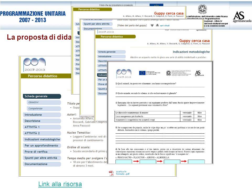 La proposta di didattica laboratoriale