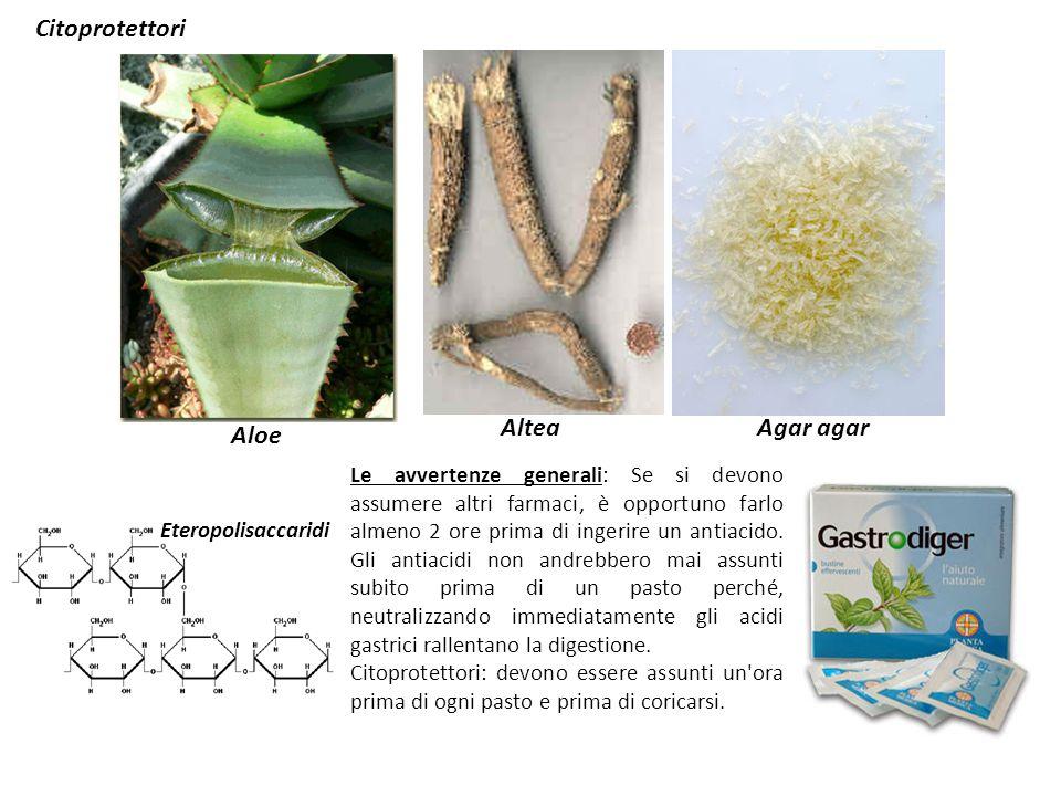 Aloe Agar agar Altea Citoprotettori