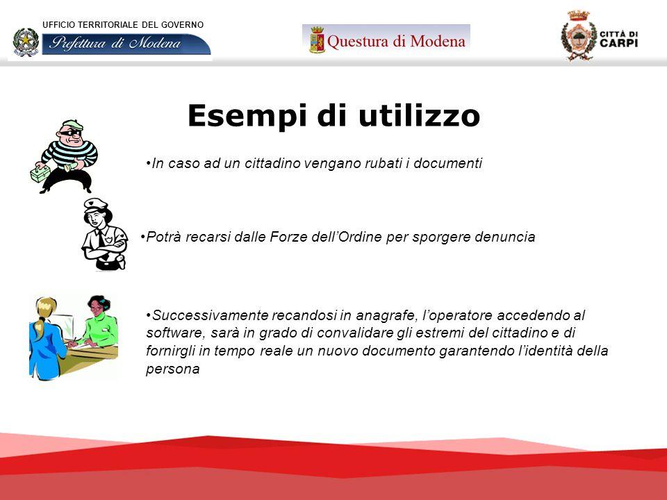 In caso ad un cittadino vengano rubati i documenti