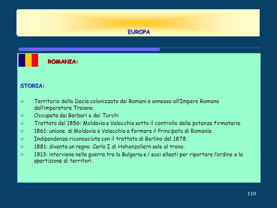 EUROPE EUROPA ROMANIA: