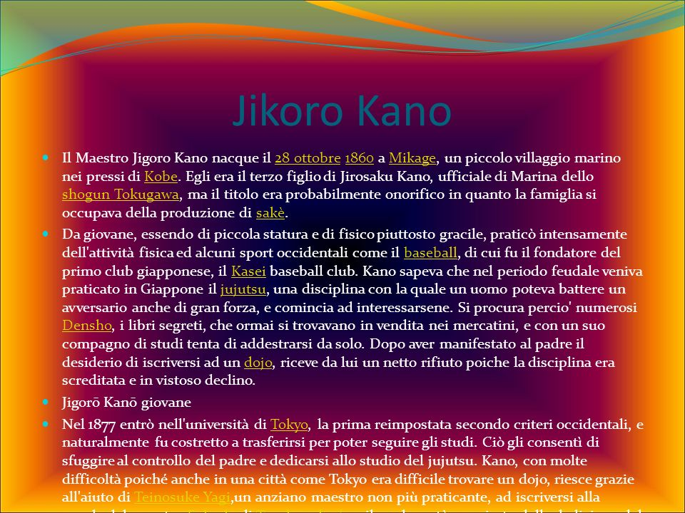 Jikoro Kano