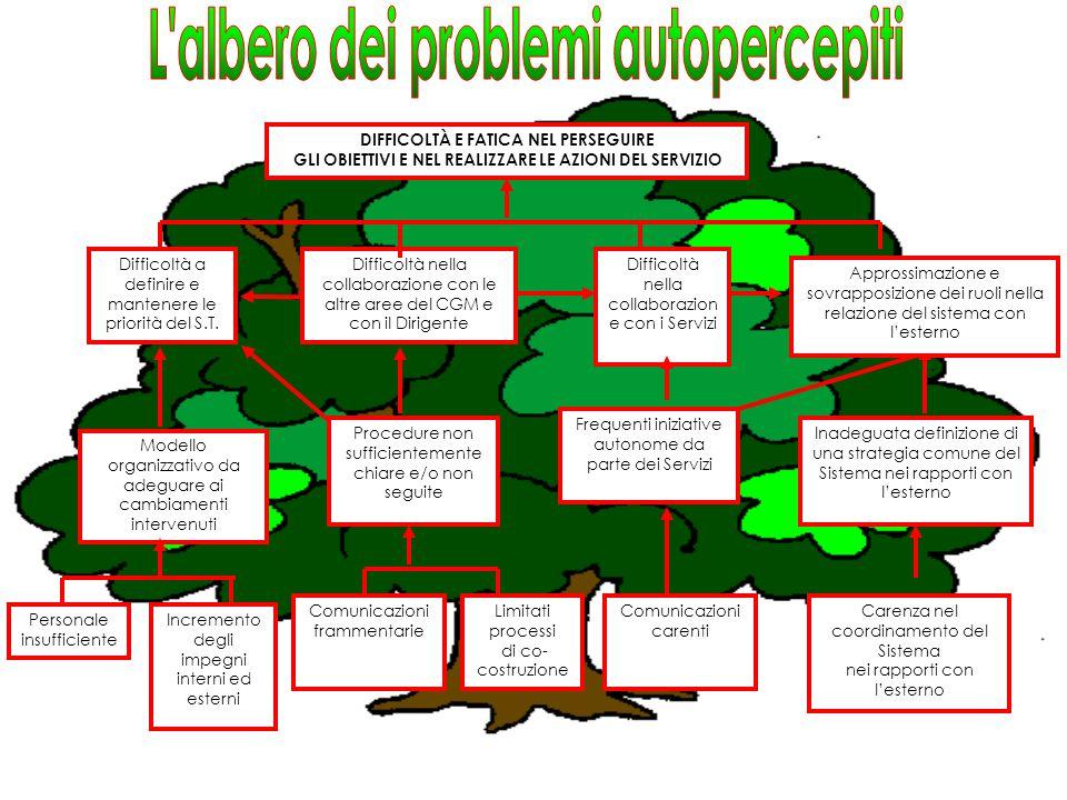 L albero dei problemi autopercepiti
