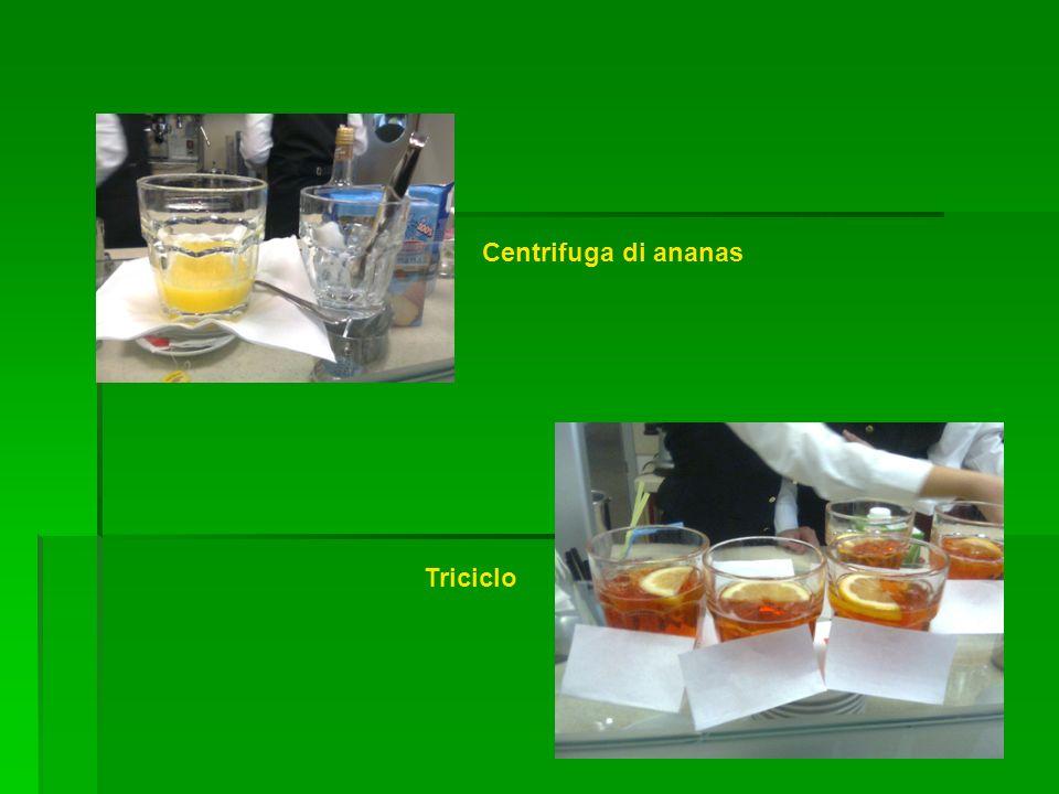 Centrifuga di ananas Triciclo