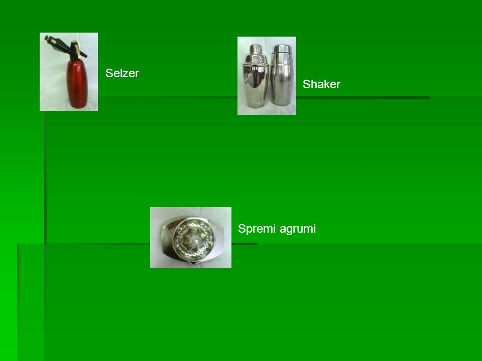 Selzer Shaker Spremi agrumi