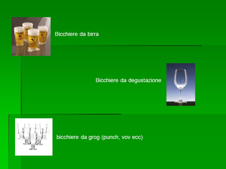 Bicchiere da birra Bicchiere da degustazione bicchiere da grog (punch, vov ecc)