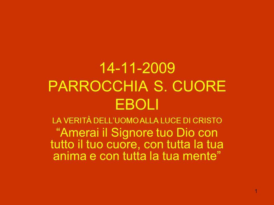 14-11-2009 PARROCCHIA S. CUORE EBOLI