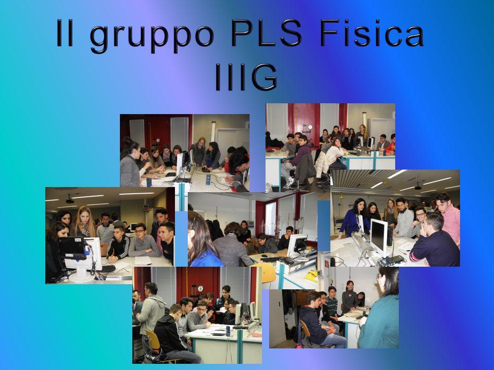Il gruppo PLS Fisica IIIG
