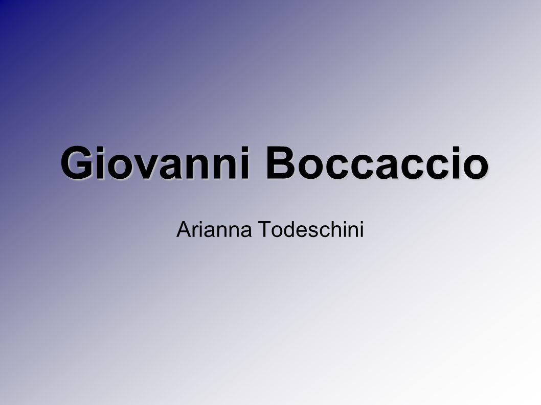 Arianna Todeschini Giovanni Boccaccio