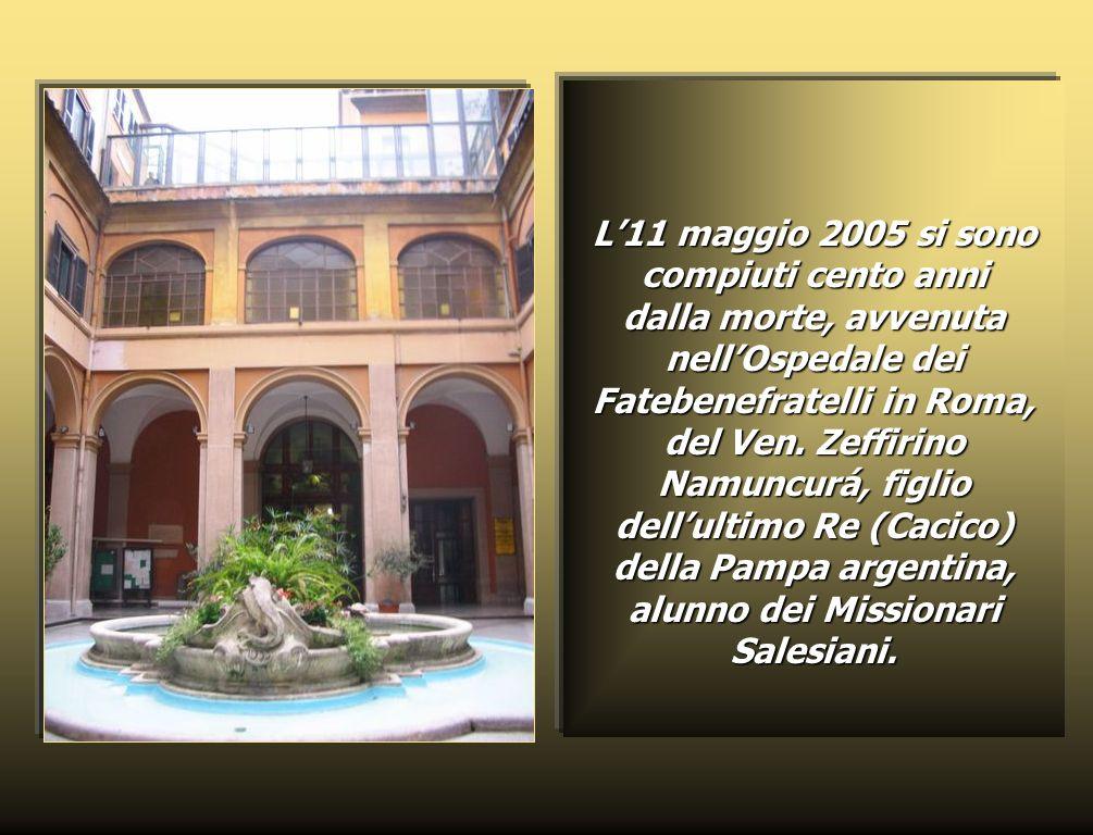 L'11 maggio 2005 si sono compiuti cento anni dalla morte, avvenuta nell'Ospedale dei Fatebenefratelli in Roma, del Ven.