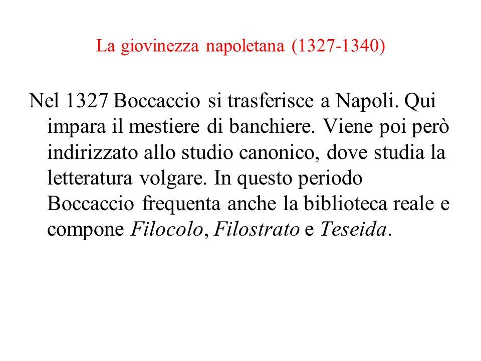 La giovinezza napoletana (1327-1340)