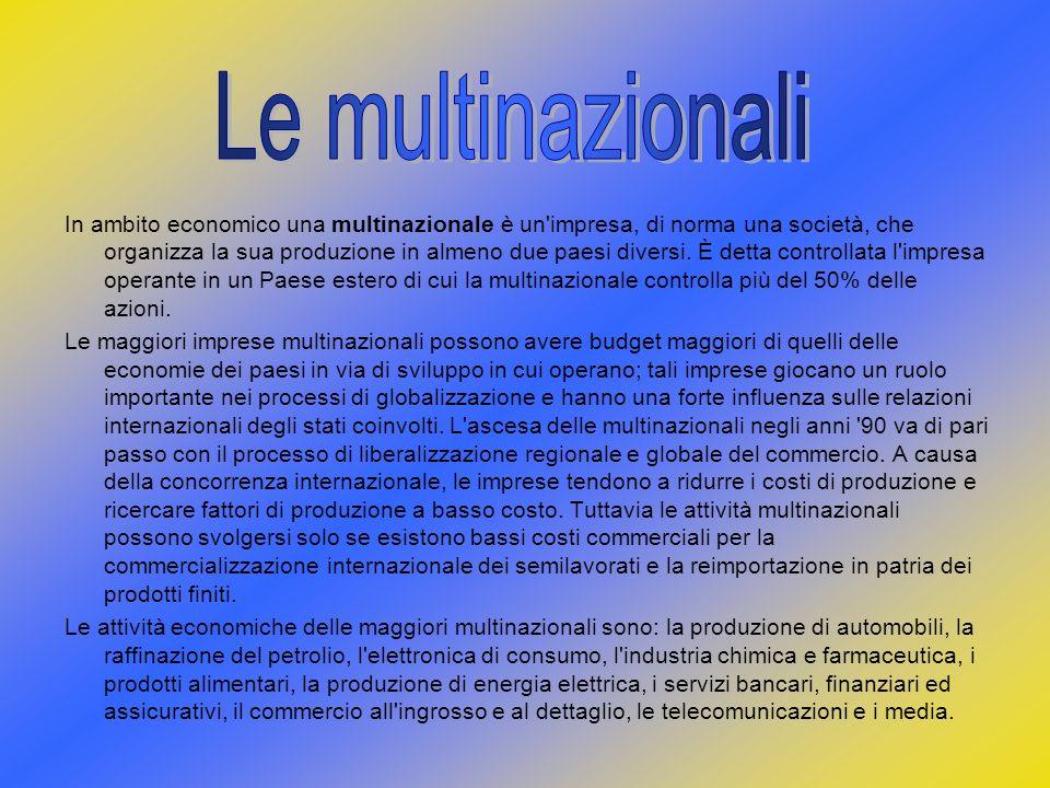 Le multinazionali