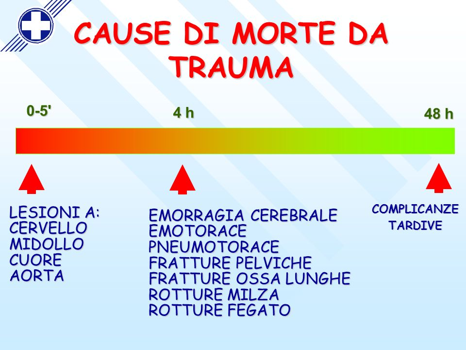 CAUSE DI MORTE DA TRAUMA
