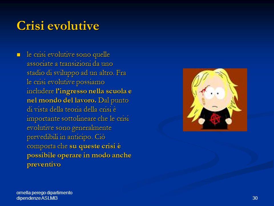 Crisi evolutive