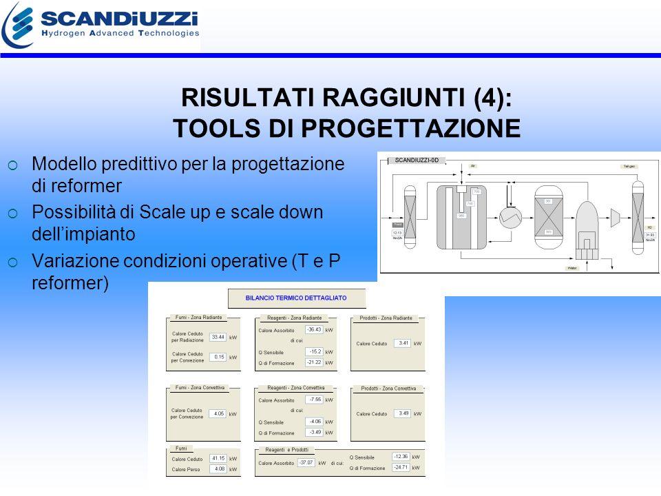 RISULTATI RAGGIUNTI (4): TOOLS DI PROGETTAZIONE