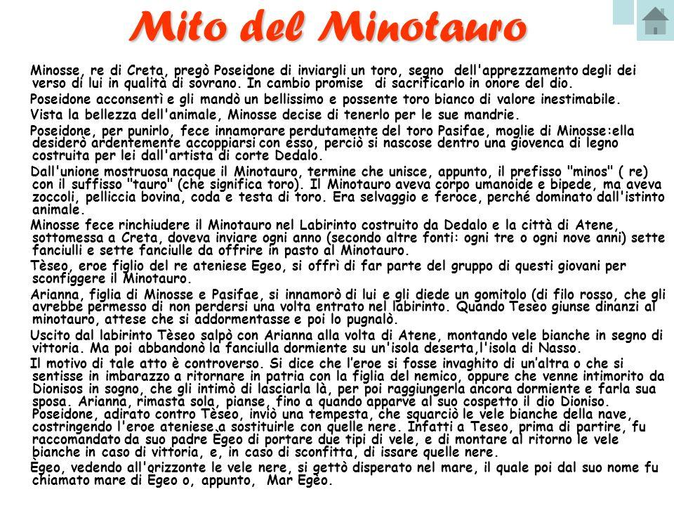 Mito del Minotauro
