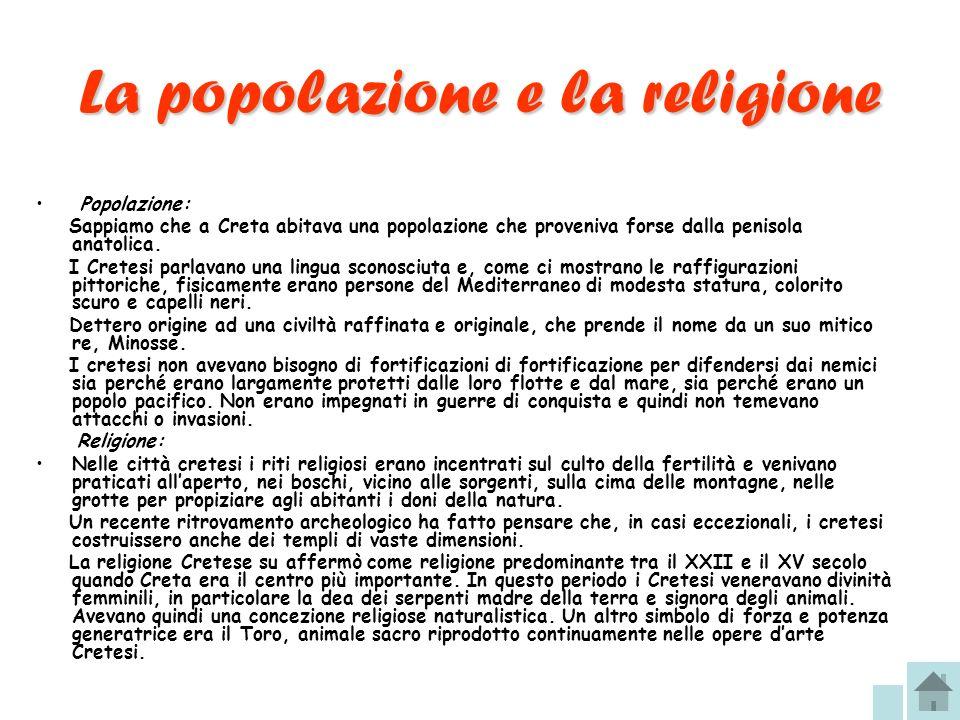 La popolazione e la religione