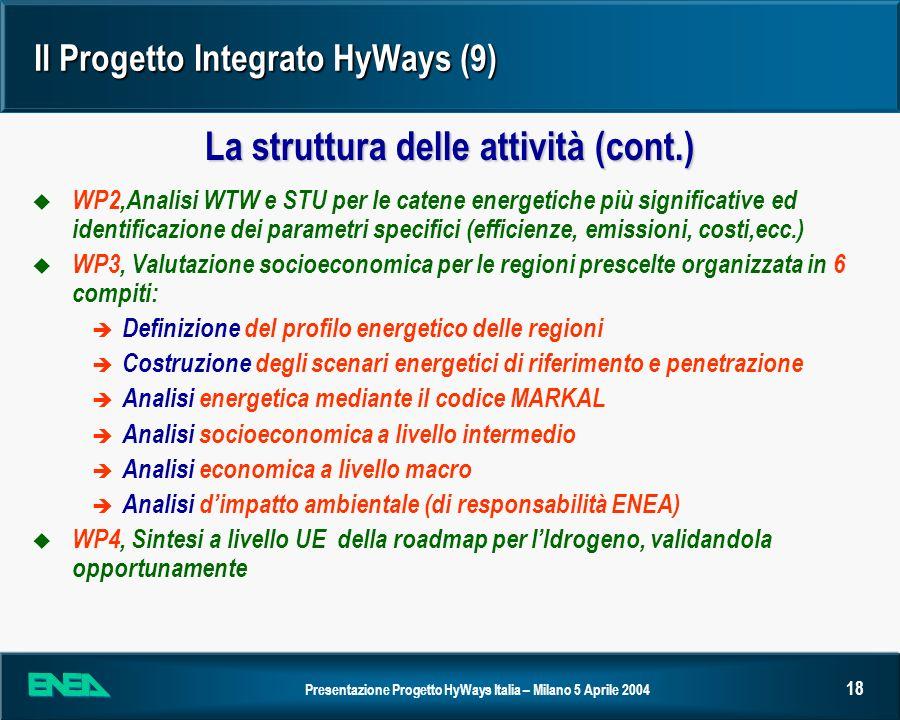 Il Progetto Integrato HyWays (9)