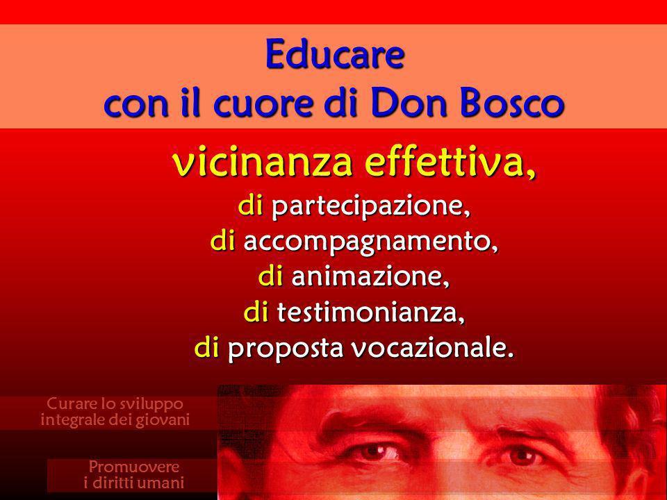 con il cuore di Don Bosco di proposta vocazionale.