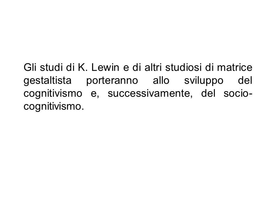 Gli studi di K.
