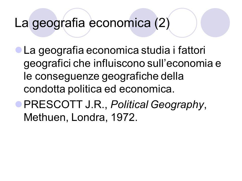 La geografia economica (2)