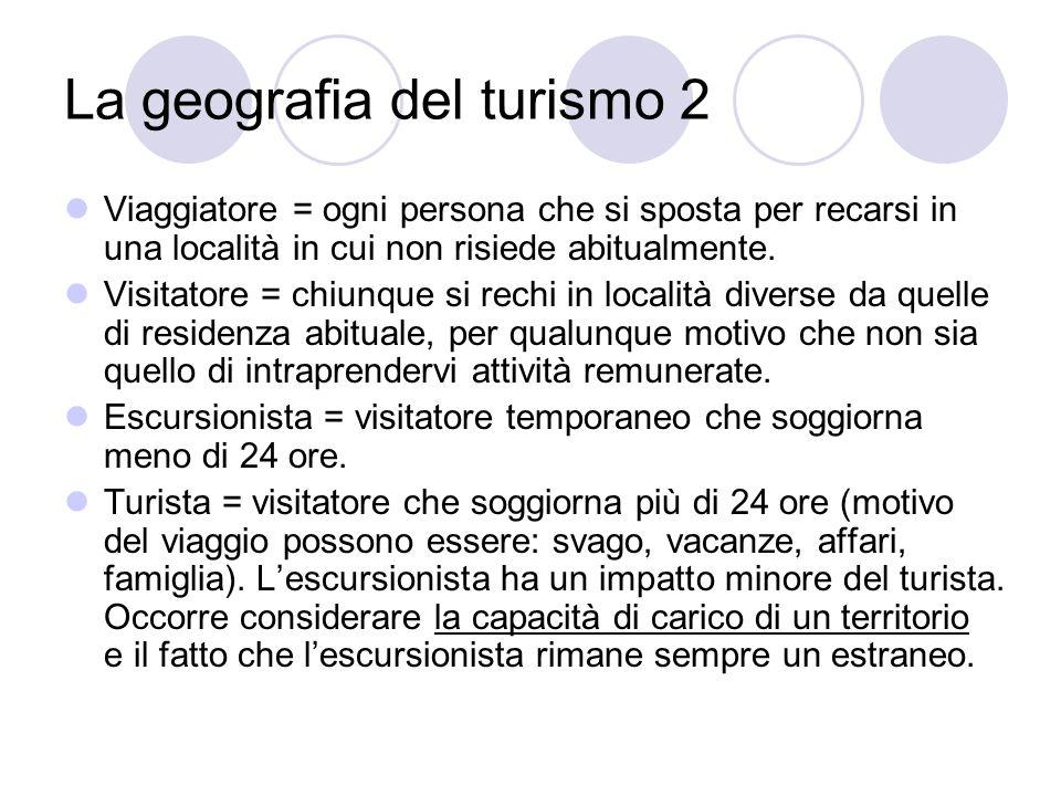 La geografia del turismo 2