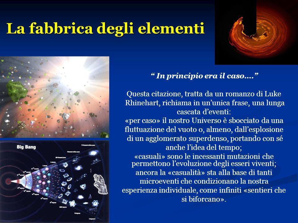 La fabbrica degli elementi