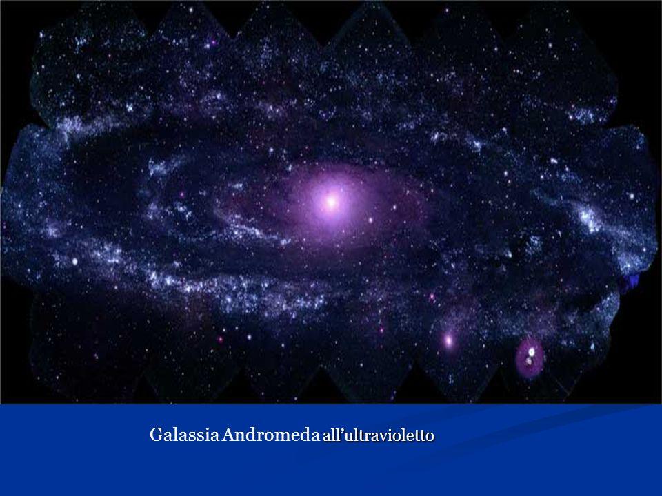 Galassia Andromeda all'ultravioletto