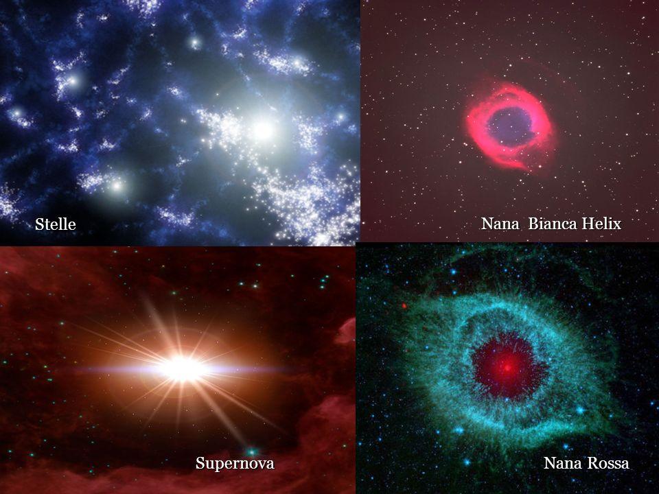 Stelle Nana Bianca Helix Supernova Nana Rossa