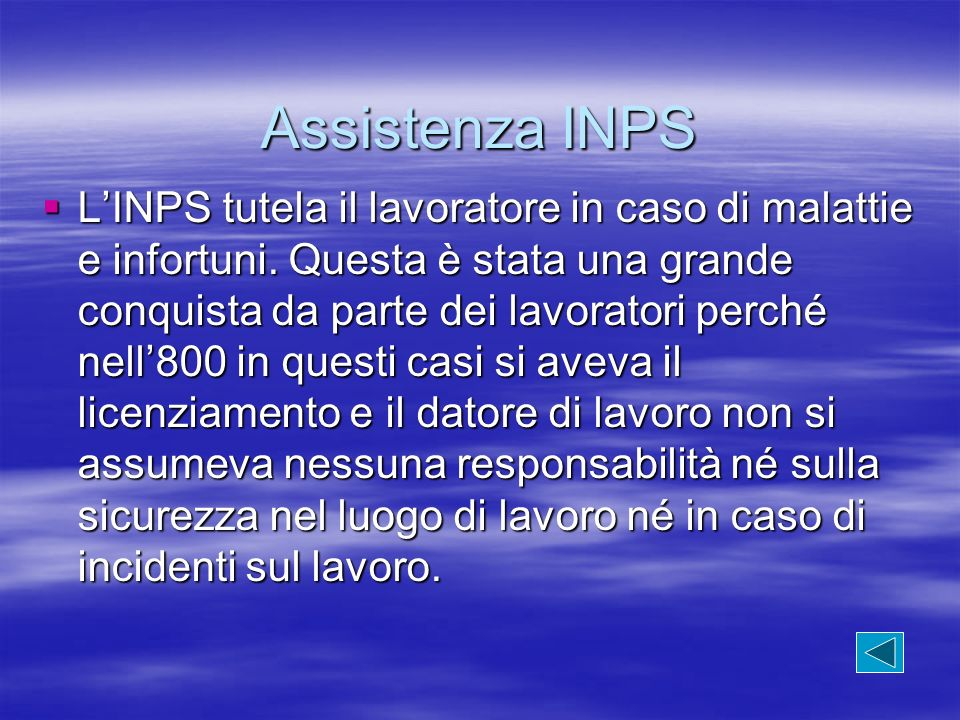 Assistenza INPS
