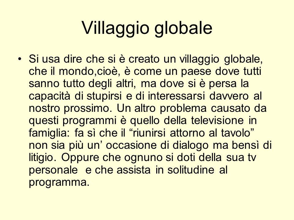 Villaggio globale