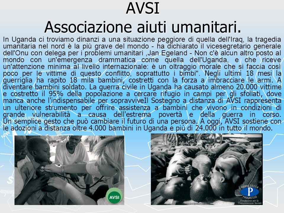 AVSI Associazione aiuti umanitari.
