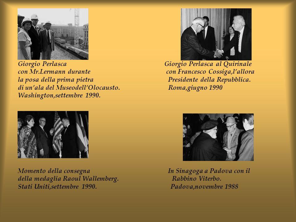 Giorgio Perlasca Giorgio Perlasca al Quirinale