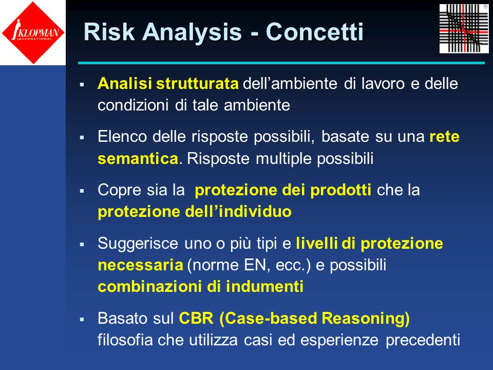 Risk Analysis - Concetti