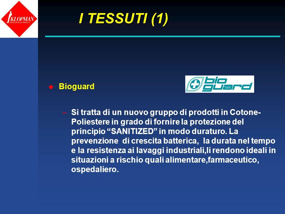 I TESSUTI (1) Bioguard.