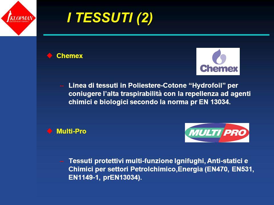 I TESSUTI (2) Chemex.
