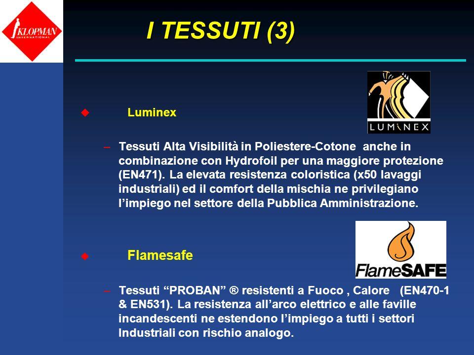 I TESSUTI (3) Luminex.