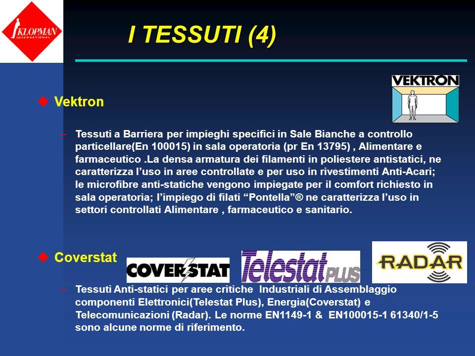 I TESSUTI (4) Vektron Coverstat