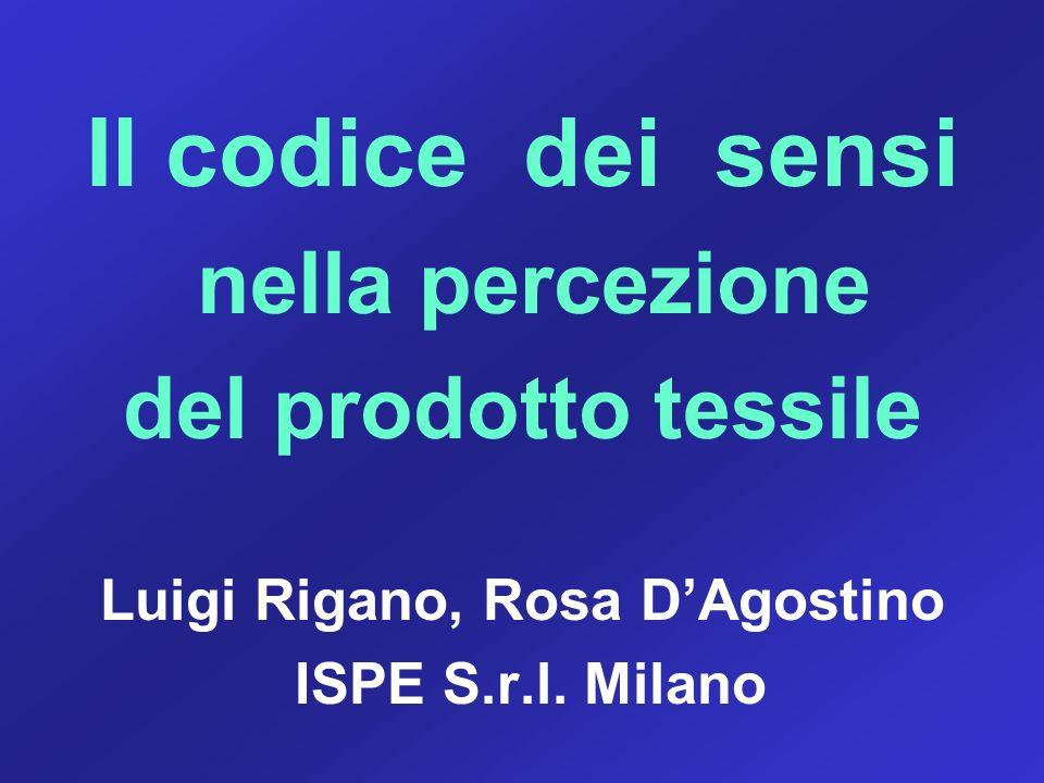 Luigi Rigano, Rosa D'Agostino