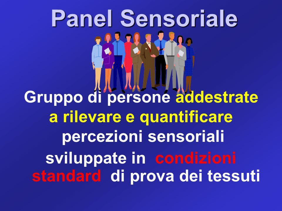 Panel Sensoriale Gruppo di persone addestrate