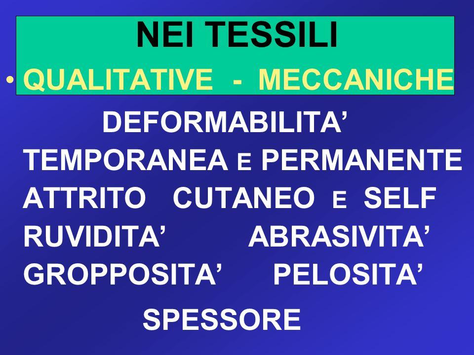 NEI TESSILI QUALITATIVE - MECCANICHE