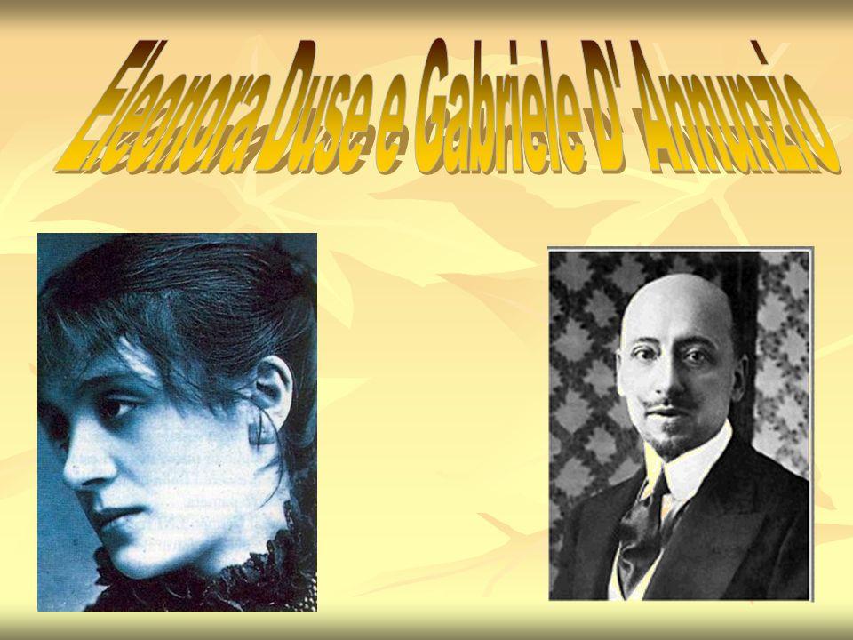 Eleonora Duse e Gabriele D Annunzio