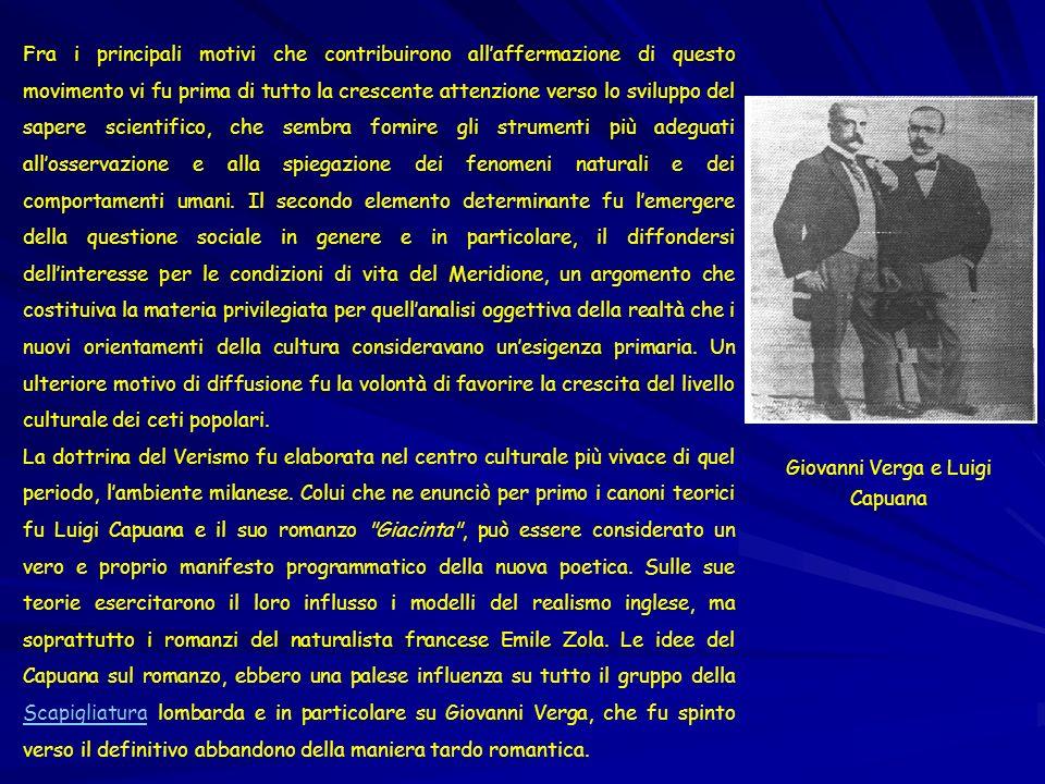 Giovanni Verga e Luigi Capuana