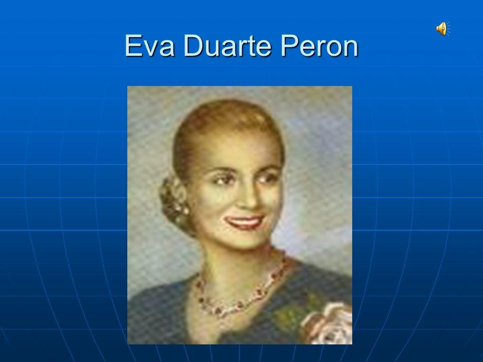 Eva Duarte Peron