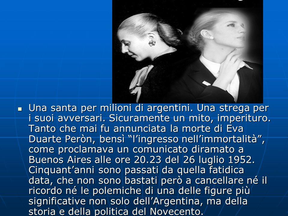 Una santa per milioni di argentini. Una strega per i suoi avversari