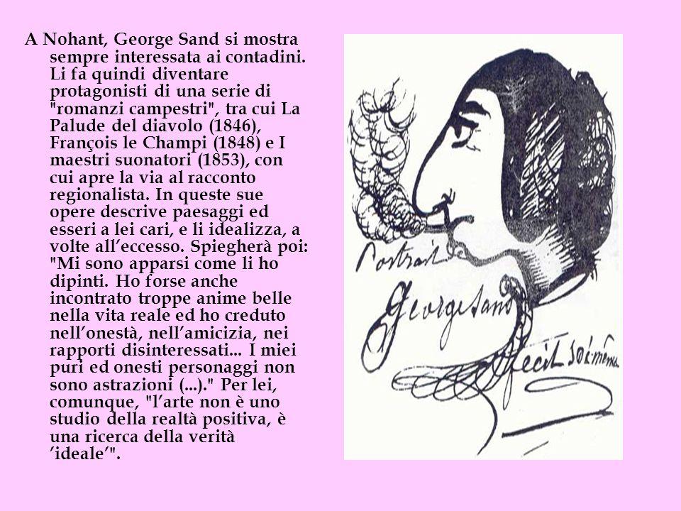 A Nohant, George Sand si mostra sempre interessata ai contadini