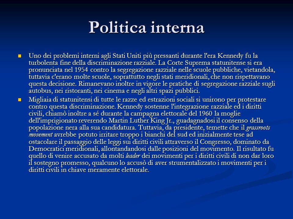 Politica interna