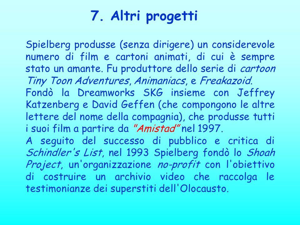 7. Altri progetti