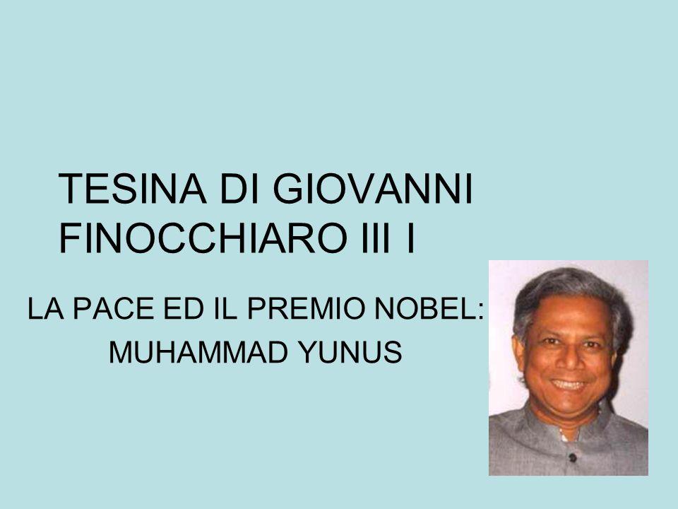 TESINA DI GIOVANNI FINOCCHIARO III I